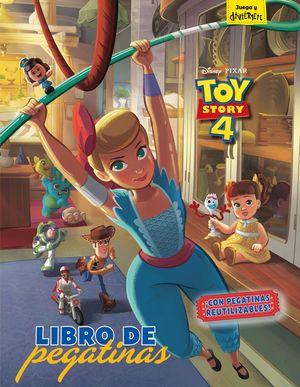 TOY STORY 4. LIBRO DE PEGATINAS