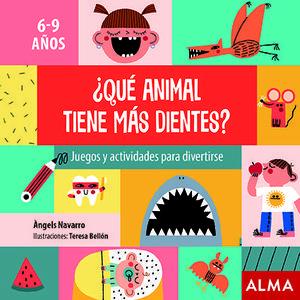 ¿QUE ANIMAL TIENE MAS DIENTES?