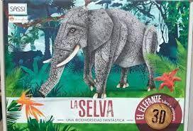 LA SELVA, ELEFANTE - 3D