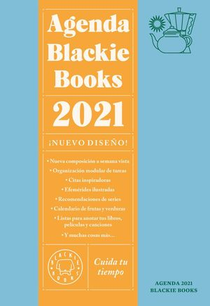 AGENDA BLACKIE BOOKS 2021 CUIDA TU TIEMPO