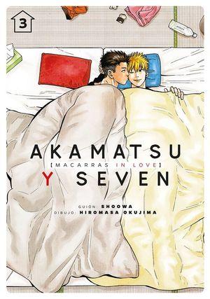 AKAMATSU Y SEVEN, MACARRAS IN LOVE, VOL. 3