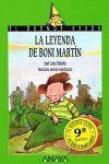 LEYENDA DE BONI MARTIN