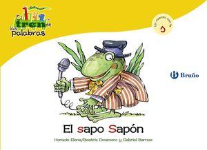 EL SAPO SAPÓN (S) EL TREN DE LAS PALABRAS