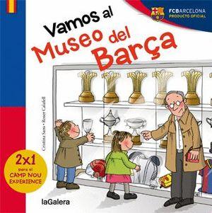 VAMOS AL MUSEO DEL BARÇA