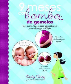 9 MESES CON BOMBO DE GEMELOS
