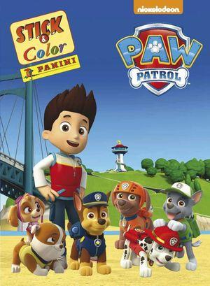 PAW PATROL STICK & COLOR