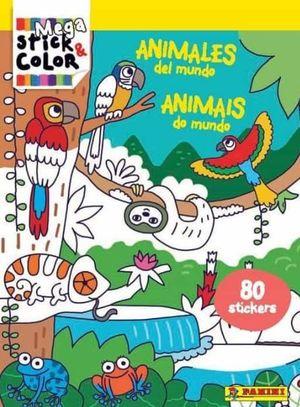 MEGA STICK & COLOR ANIMALES DEL MUNDO
