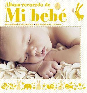 ÁLBUM RECUERDO DE MI BEBÉ (AMARILLO)
