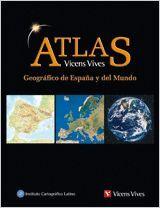 ATLAS GEOGRAFICO ESPAÑA Y MUNDO N/C