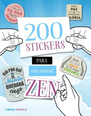 200 STICKERS PARA UNA ACTITUD ZEN