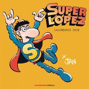 CALENDARIO PARED 2018 SUPERLOPEZ