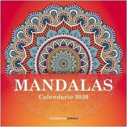 CALENDARIO PARED 2020 MANDALAS