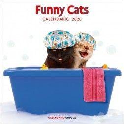 CALENDARIO PARED 2020 FUNNY CATS