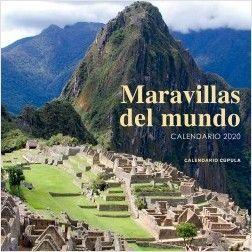 CALENDARIO PARED 2020 MARAVILLAS DEL MUNDO