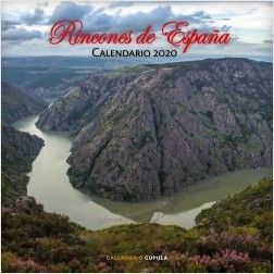 CALENDARIO PARED RINCONES DE ESPAÑA CON ENCANTO