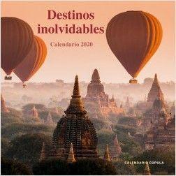 CALENDARIO PARED 2020 DESTINOS INOLVIDABLES