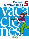REPASO MATEMÁTICAS 5.