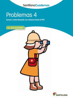 PROBLEMAS 4 SANTILLANA CUADERNOS