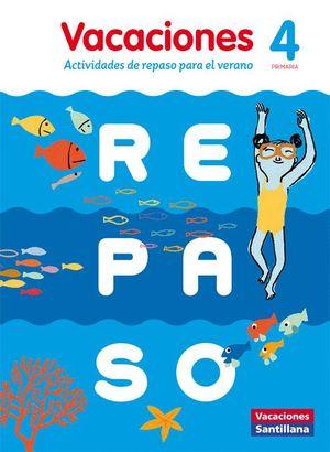 VACACIONES DE REPASO 4 PRIMARIA CASTELLANO