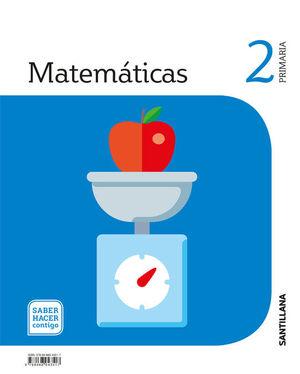 MATEMATICAS 2 PRIMARIA SABER HACER CONTIGO