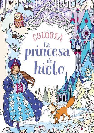 COLOREA LA PRINCESA DE HIELO