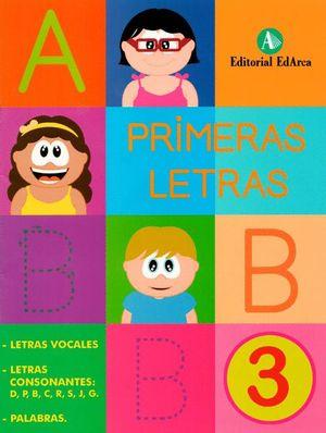 PRIMERAS LETRAS 3