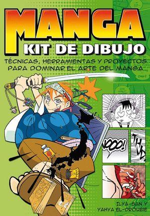 KIT COMPLETO DE DIBUJO MANGA