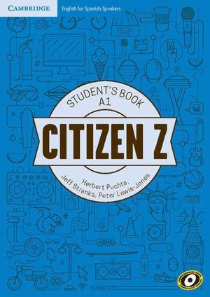 CITIZEN Z A1 STUDENT'S BOOK WITH AUGMENTED REALITY