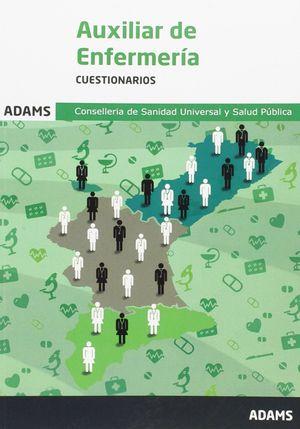 CUESTIONARIO AUXILIARES DE ENFEREMERÍA. CONSELLERÍA DE SANIDAD UNIVERSAL Y SALUD