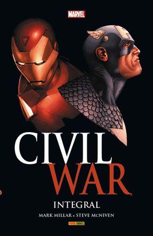 MARVEL INTEGRAL. CIVIL WAR