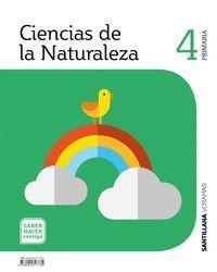 CIENCIAS DE LA NATURALEZA 4 PRIMARIA SABER HACER CONTIGO
