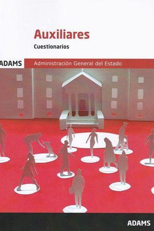 CUESTIONARIOS AUXILIARES DE LA ADMINISTRACIÓN DEL ESTADO