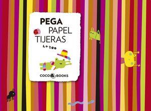 PEGA, PAPEL, TIJERAS
