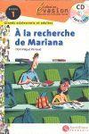 EVASION NIVEAU 1 A LA RECHERCHE DE MARIANA + CD