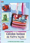 CÁLIDOS BOLSOS DE FIELTRO