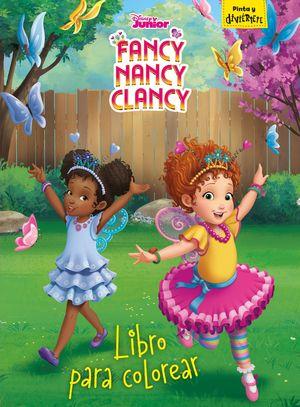 FANCY NANCY CLANCY. LIBRO PARA COLOREAR