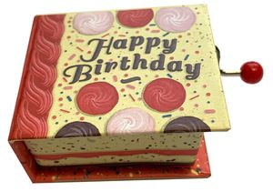 CAJA MUSICA LIBRO MANIVELA HAPPY BIRTHDAY