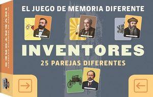 JUEGO DE MEMORIA DIFERENTE INVENTORES