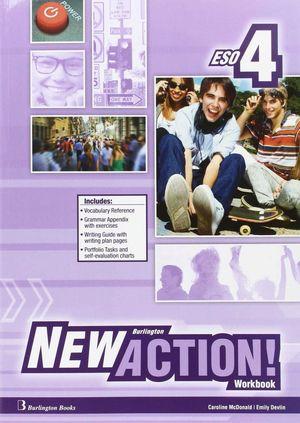 NEW BURLINGTON ACTION 4 WORKBOOK + LANGUAGE BUILDER